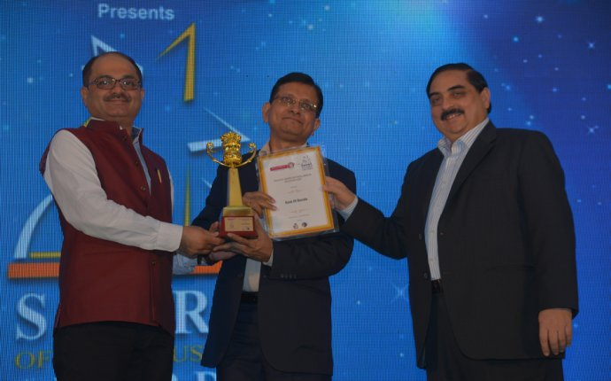 "Bank of Baroda awarded for ""Excellence in Education Loan"