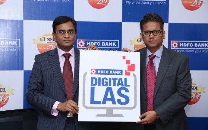 HDFC Bank launches Digital Loan against Securities (LAS)