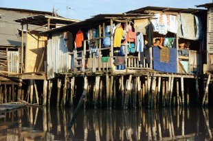Indonesia slums